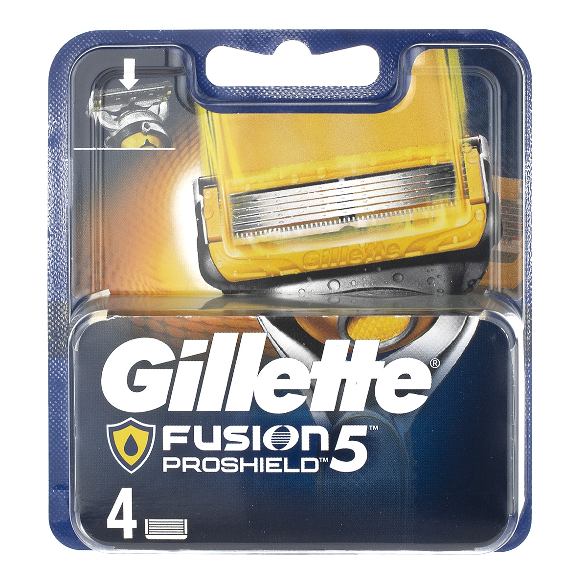 Gillette Fusion Proshield Razor Blades 4 Pack