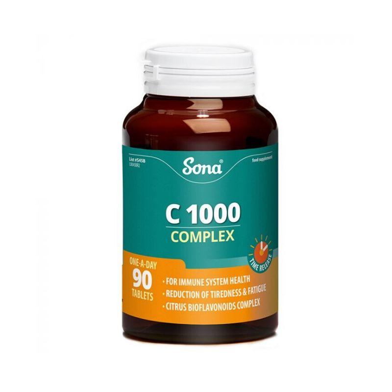 Sona Vitamin C1000 Complex 90's