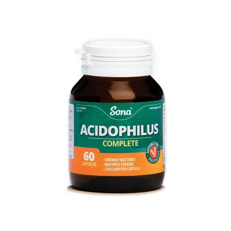 Sona Acidophilus Complete Capsules – 60's