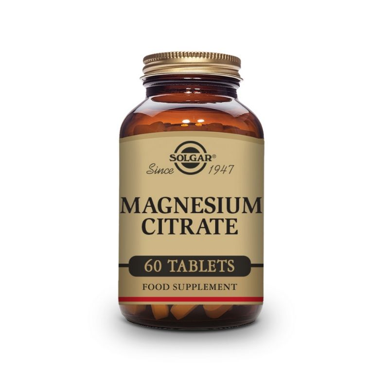 Solgar Magnesium Citrate Tablets 60s