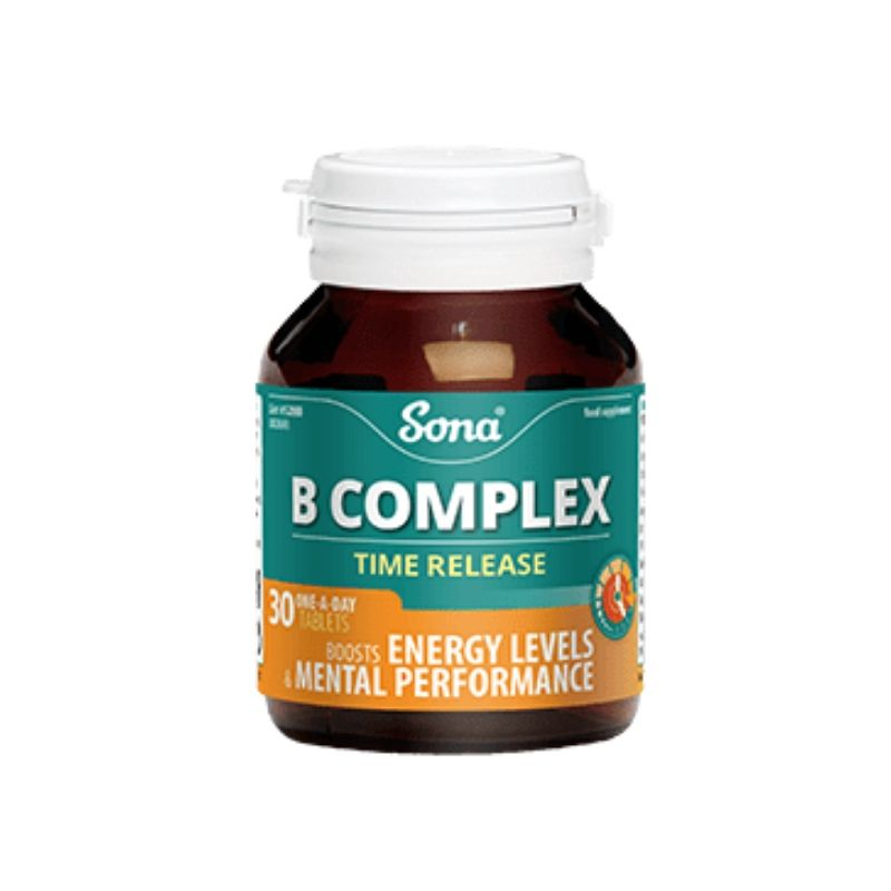 Sona B Complex Time Release Tablets 120s