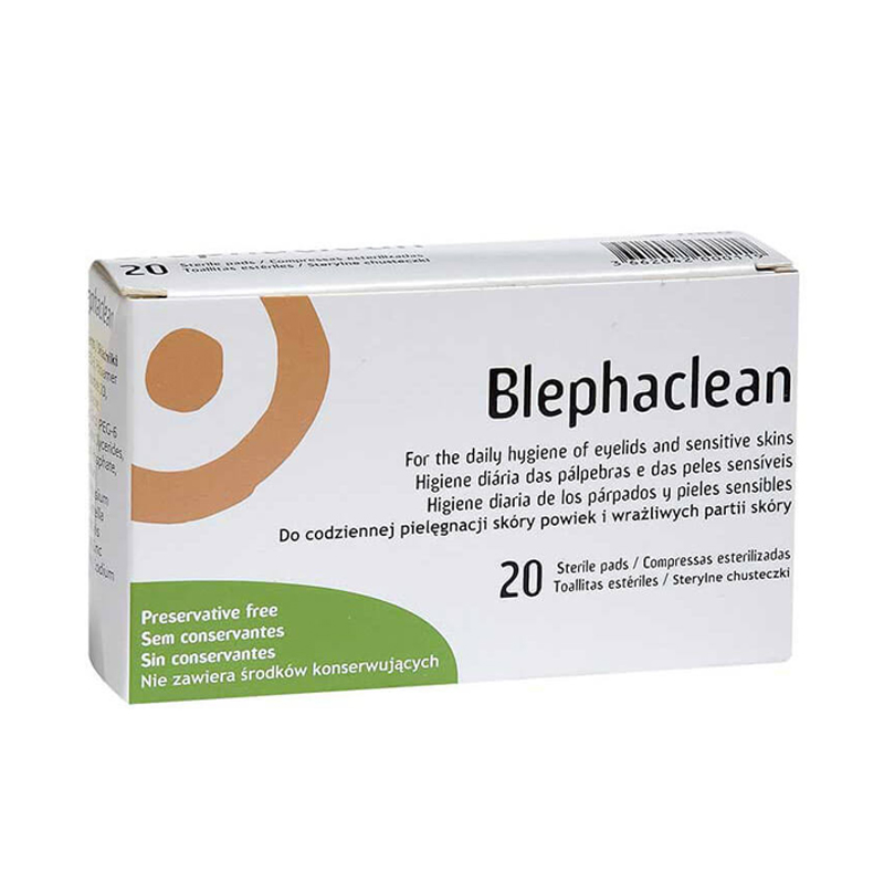 Blephaclean Wipes 20S