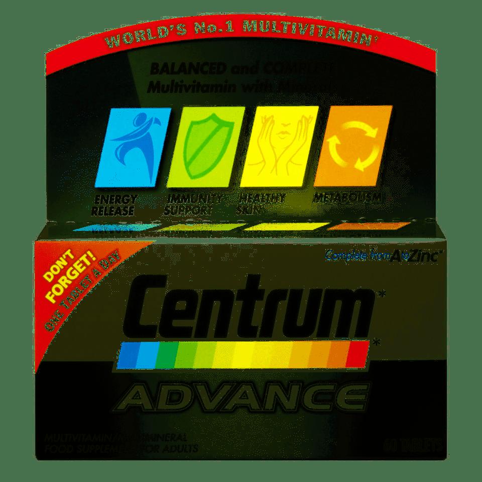 Centrum Advance – 60 Tablets