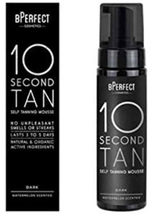 BPerfect 10 Second Tan Self Tanning Mousse 200ml Dark