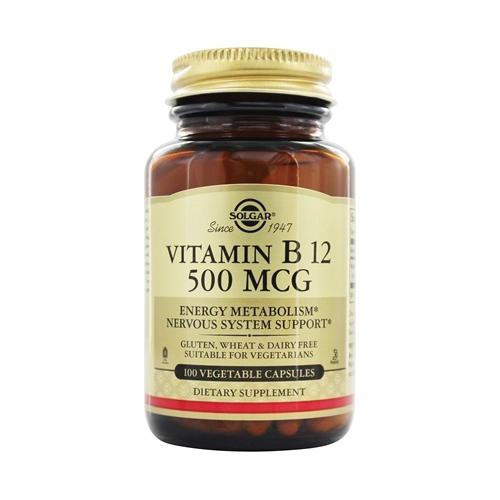 Solgar Vitamin B12 500mcG 50