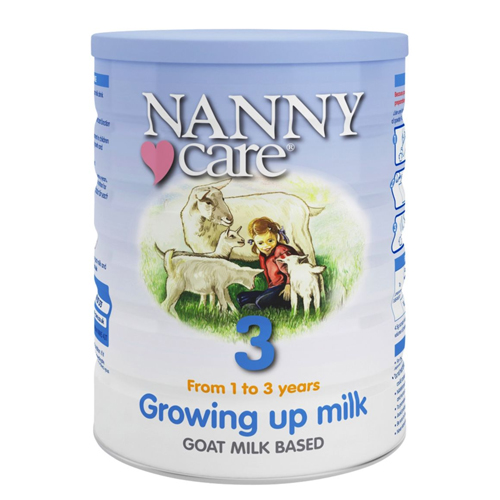 Nanny Care Goat Milk Stage 3 Growing Up Milk 900g