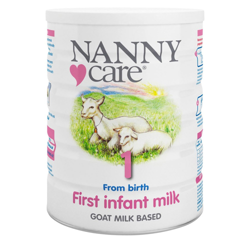 Nannycare 1 Goat Milk Based First Infant Milk From Birth 900g