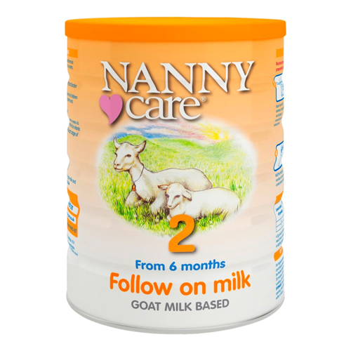 Nannycare 2 Goat Milk Based Follow On Milk From 6 Months 900g
