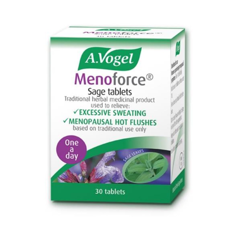 A. Vogel Menoforce Sage Tablets 30Pk