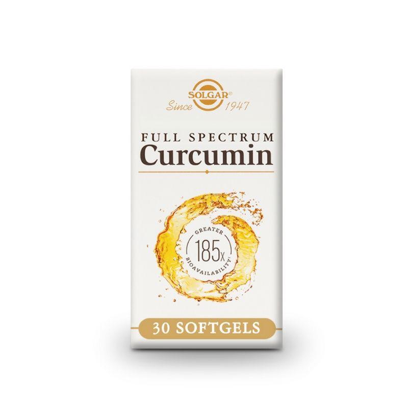 Solgar Full Spectrum Curcumin Softgels 30s
