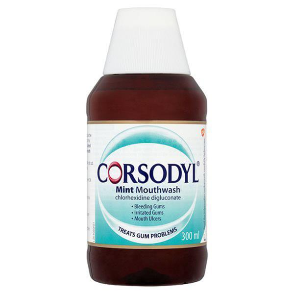 Corsodyl Mint 0.2% W/v Mouthwash 300ml