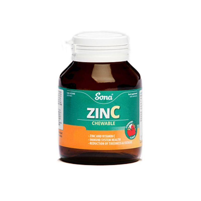 Sona Zinc Chewable 30 Tablets