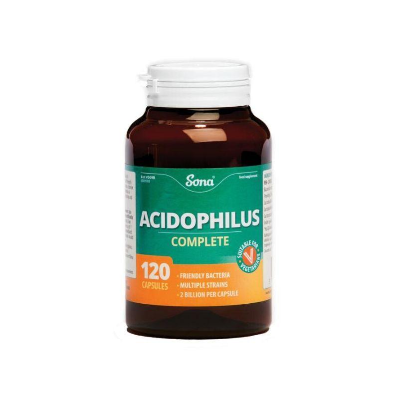 Sona Acidophilus Complete Capsules – 120's