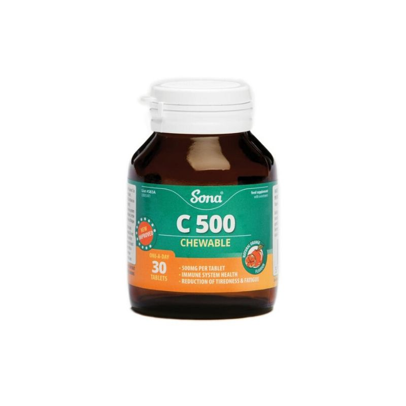 Sona C500 Chewable Tablets 90's