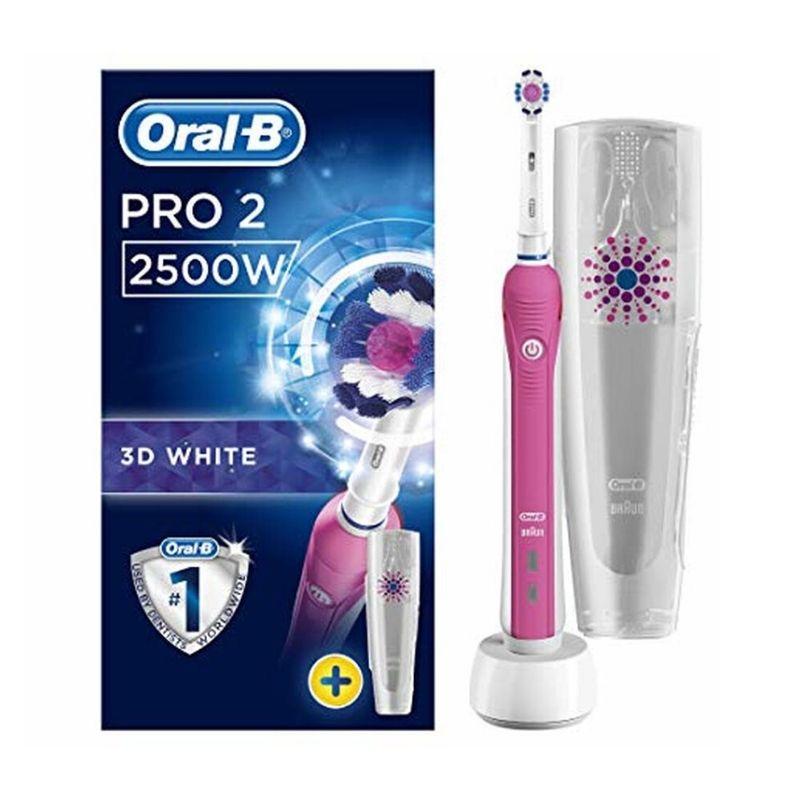 Oral B Pro 2500 3D Pink Toothbrush