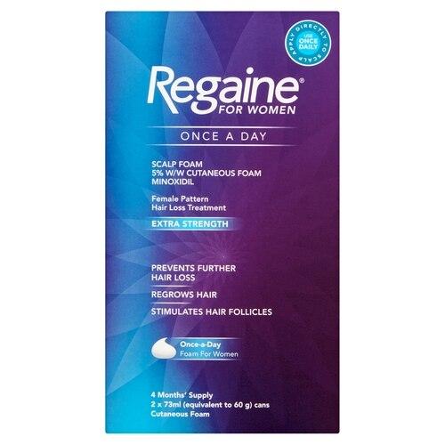 Regaine For Women Extra Strength Scalp Foam 5%w/w Foam 4 Month Pack