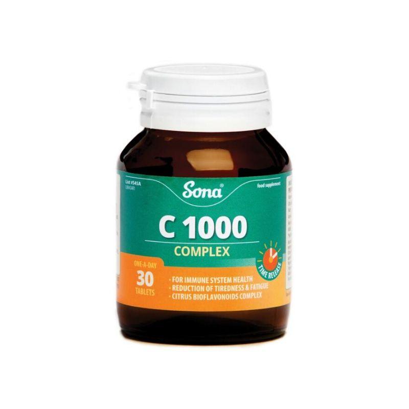 Sona C1000 Complex Capsules 30's