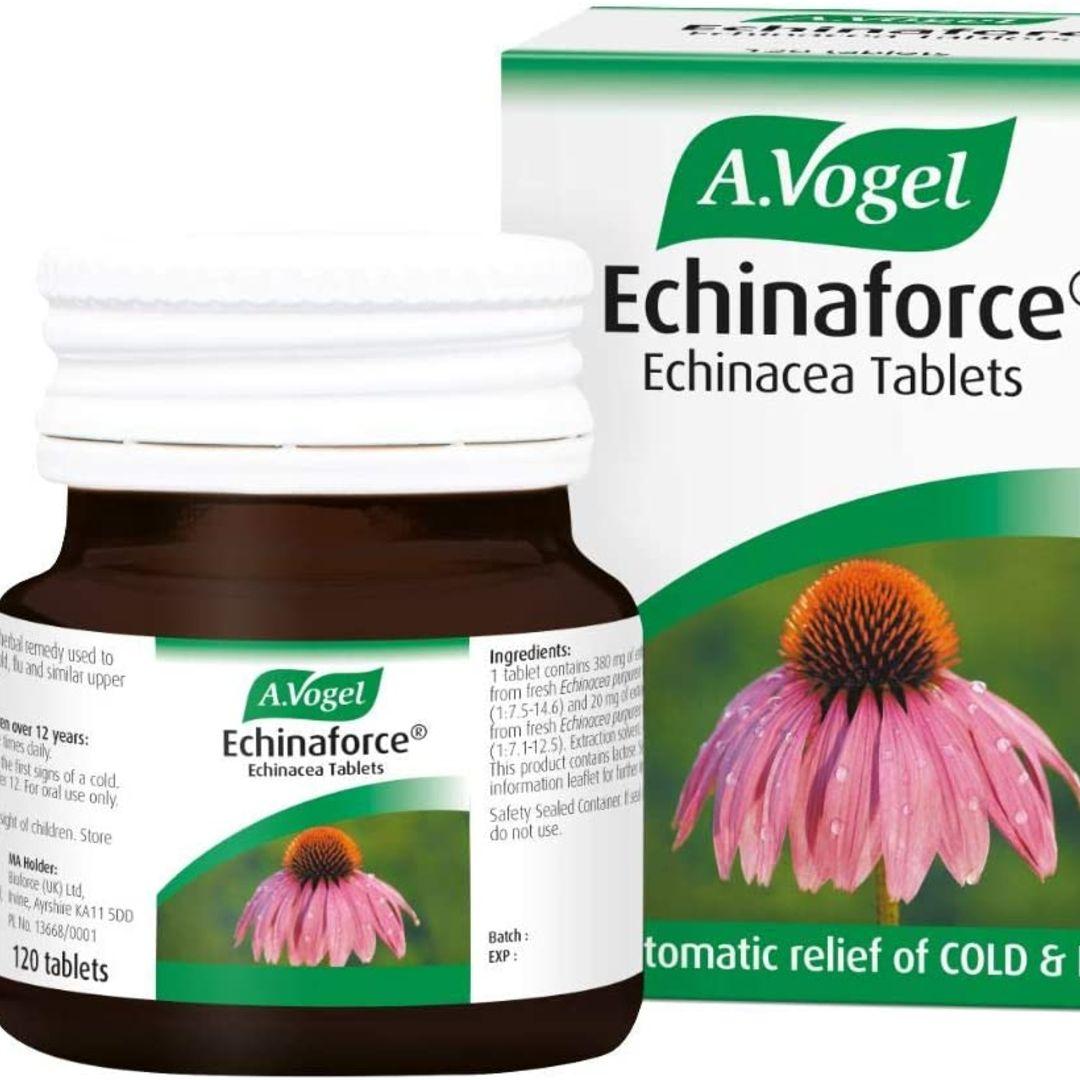 A. Vogel Echinaforce Cold & Flu Tablets 120pk