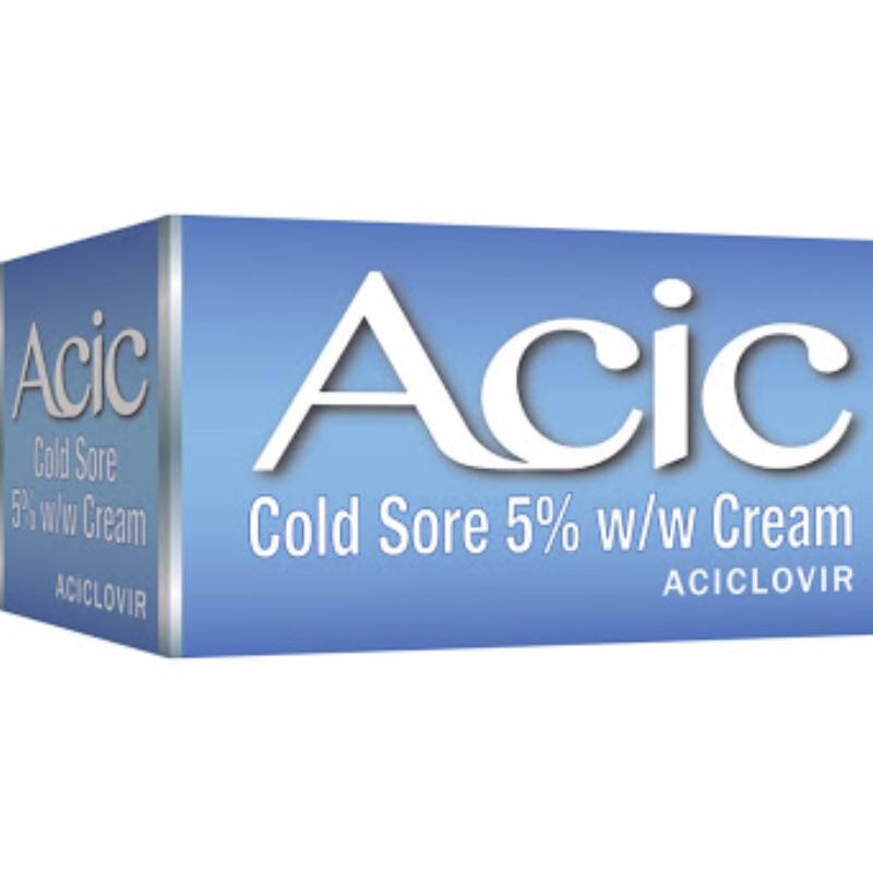 Acic Cold Sore 5% W/w Cream 2g