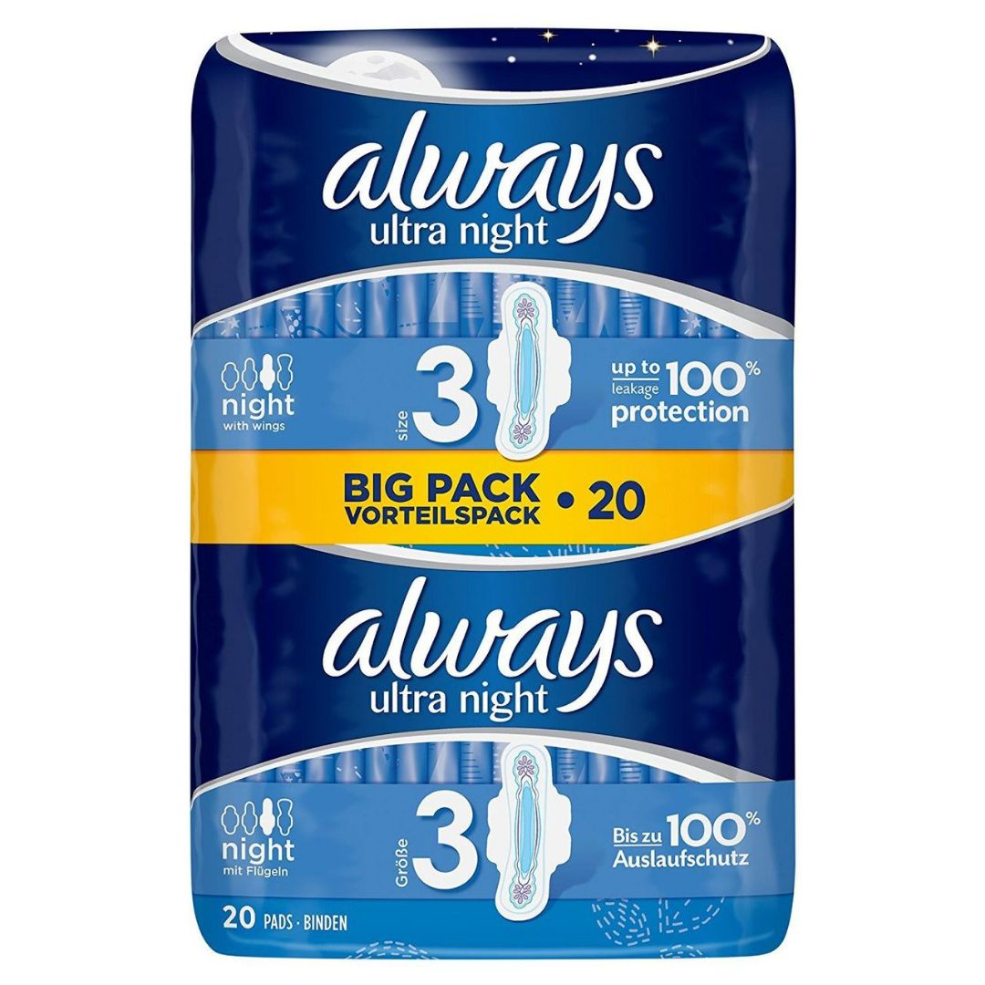 Always Ultra Night Duo's (20 Pack)
