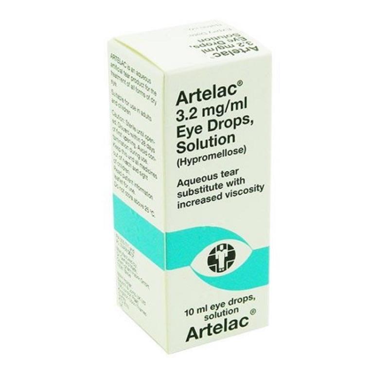 Artelac 3.2 Mg/ml Eye Drops, Solution 10ml