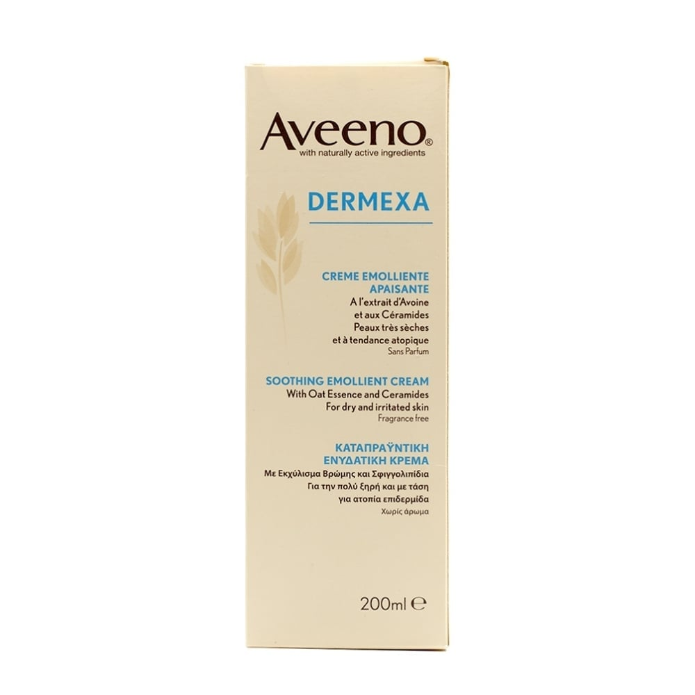 Aveeno Dermexa Moisturising Cream 200ml