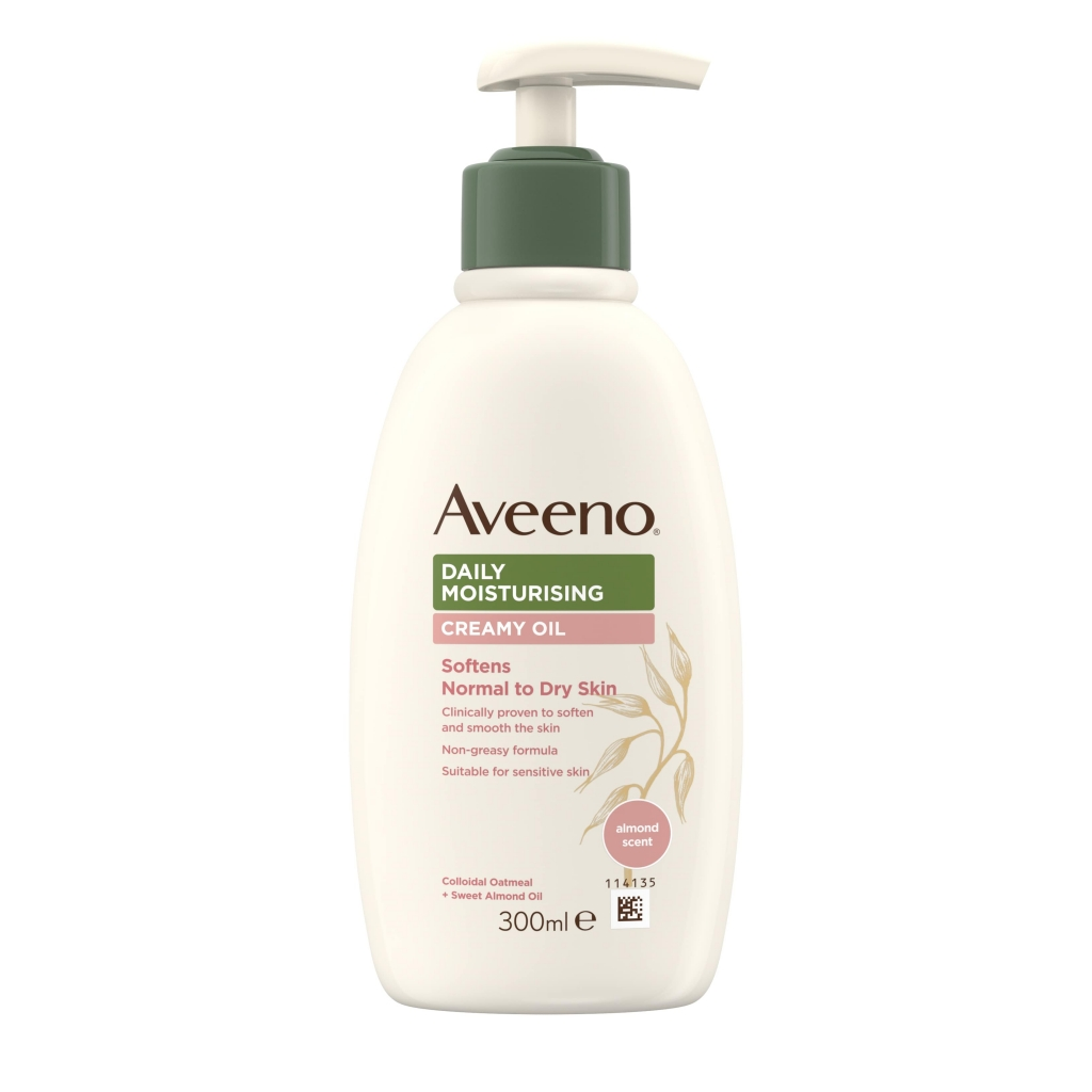Aveeno Daily Moisturing Creamy Oil 300ml