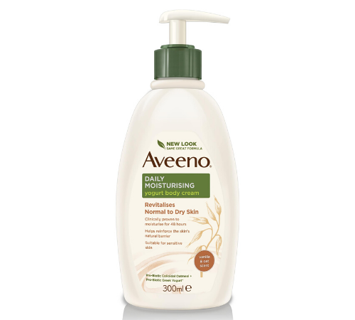 Aveeno Daily Moisturising Yogurt Body Cream Vanilla & Oat