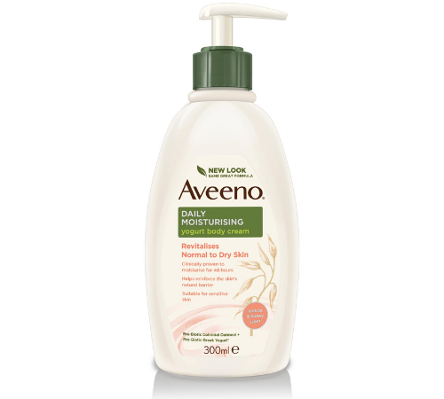 AVEENO® Daily Moisturising Yogurt Body Cream Apricot & Honey 300ml