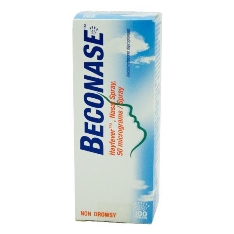 Beconase Hayfever Nasal Spray 50 Micrograms Per Spray