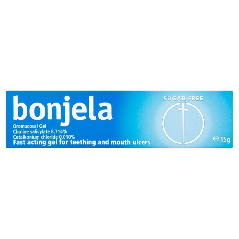Bonjela Oromucosal GelCholine Salicylate 8.714%Cetalkonium Chloride 0.010% 15g