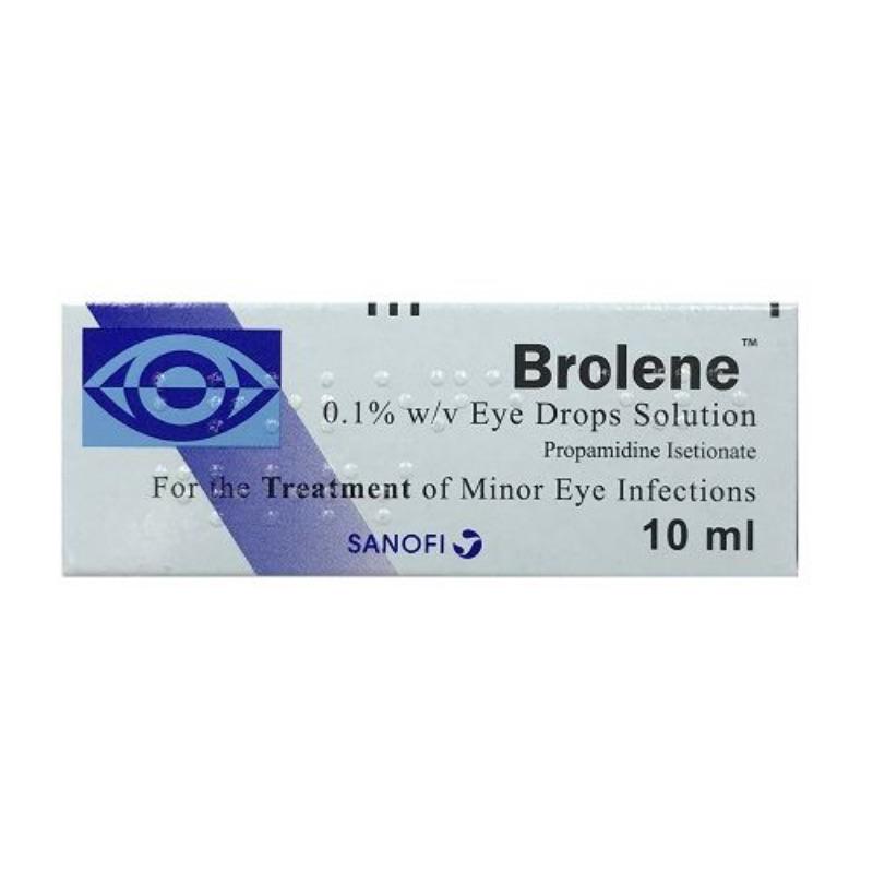 Brolene 0.1% W/v Eye Drops Solution 10ml