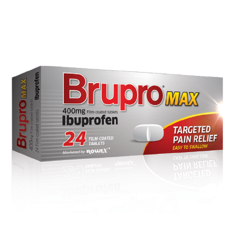 Brupro Max 400mg Film-coated Tablets