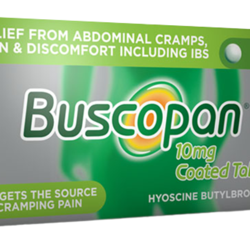 Buscopan 10 Mg Coated Tablets
