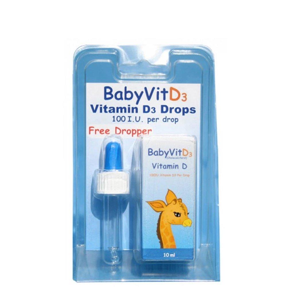 BabyVit Vitamin D3 Drops