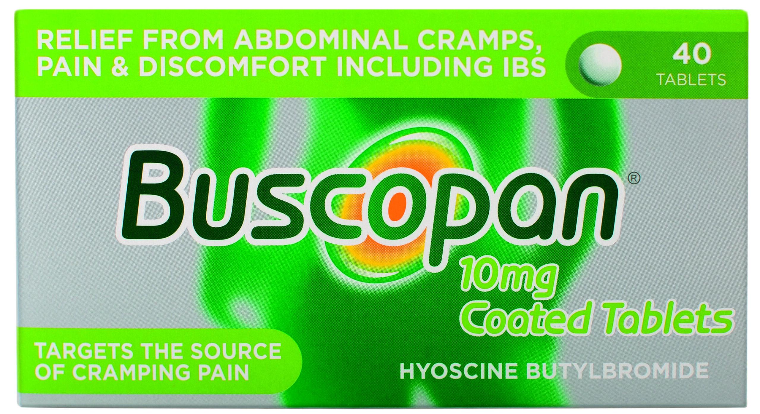 Buscopan 10 Mg Coated Tablets