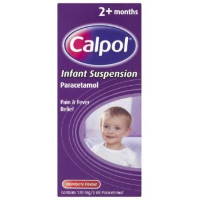 Calpol 120 Mg/5 Ml Infant Oral Suspension 140ml