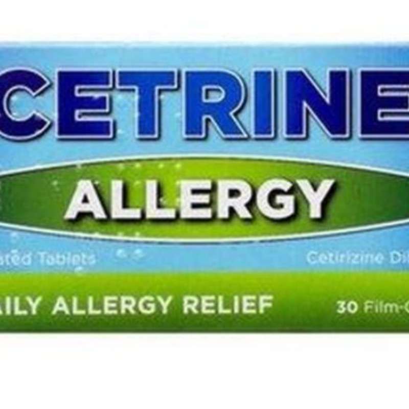 Cetrine Allergy 10mg Film-coated Tablets 30Pk