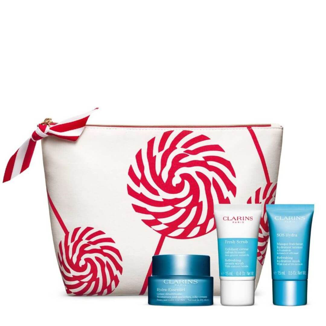 Clarins Intense Hydration Routine Set