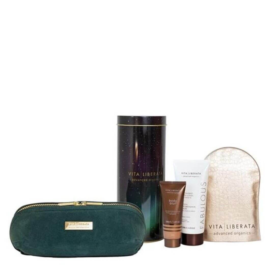 Vita Liberata Fabulous Tan & Glow Discovery Gift Set – Lotion Medium