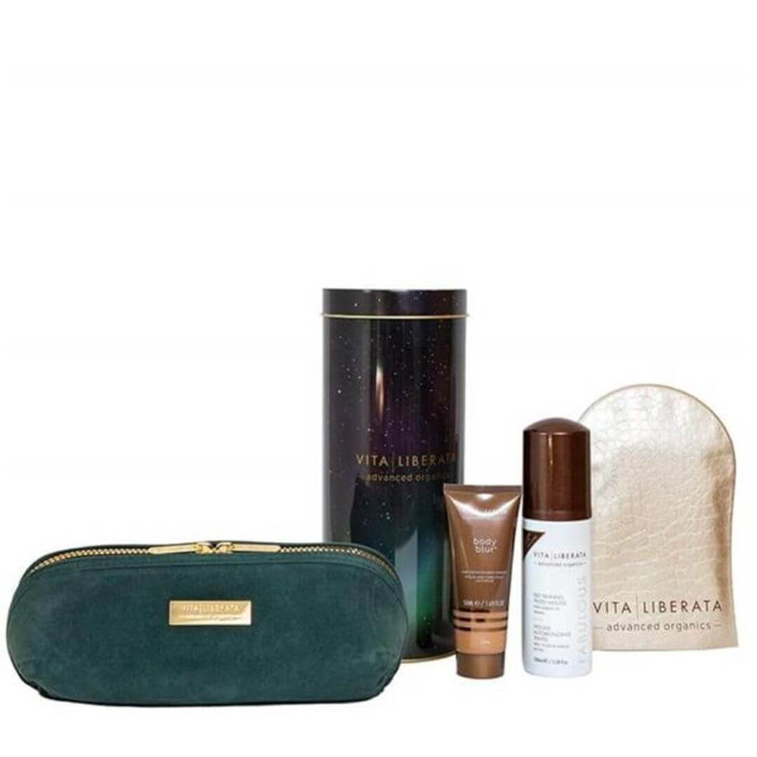 Vita Liberata Fabulous Tan & Glow Discovery Gift Set – Mousse Medium