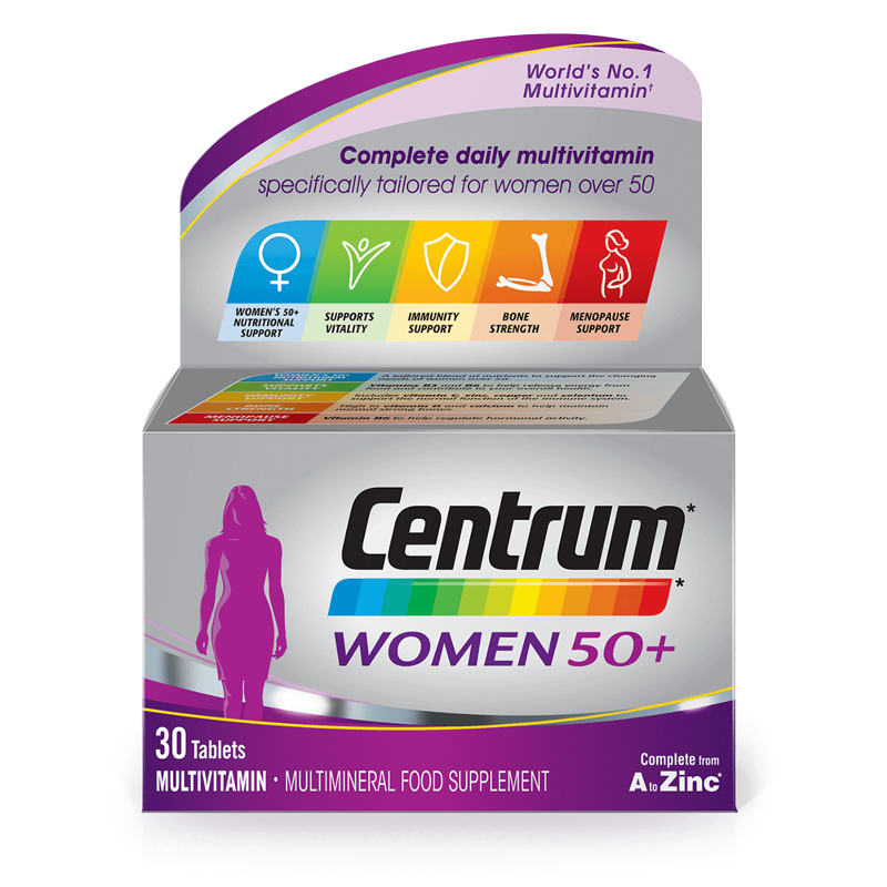 Centrum Women-50+ Tablets 30
