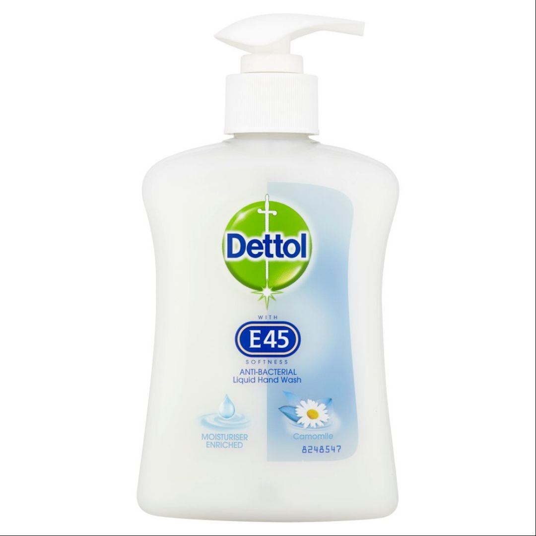Dettol With E45 Handwash Camomile 250Ml