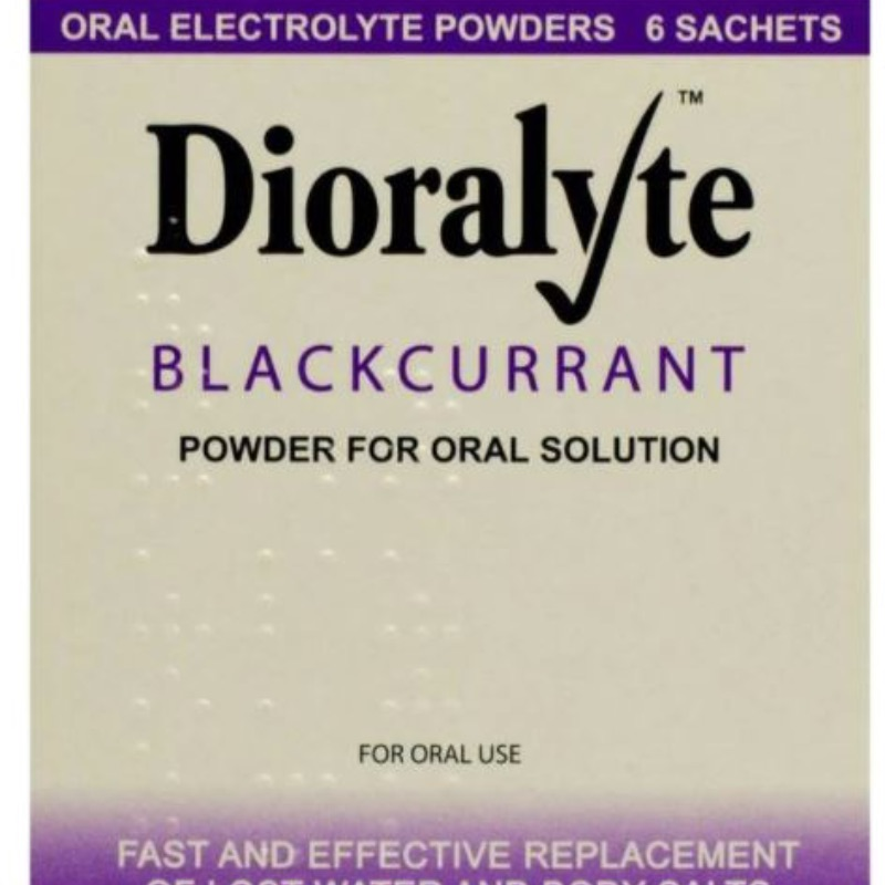 Dioralyte Blackcurrant Powder For Oral Solution