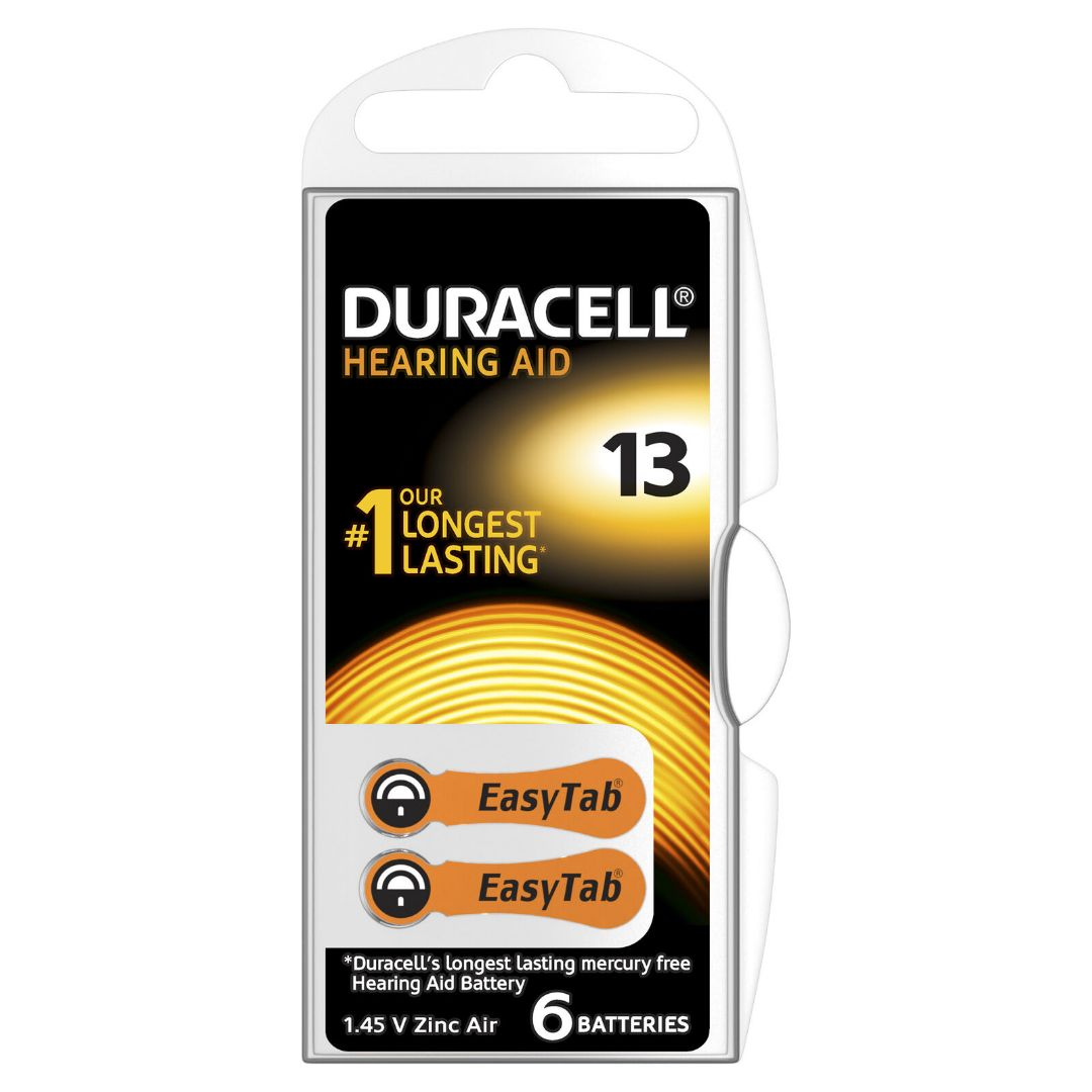 Duracell Zinc Air Size 13 Batteries