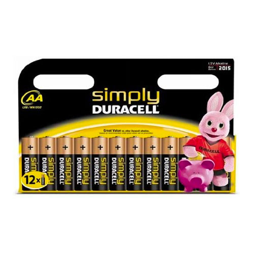 Duracell 12 Pack AA Batteries