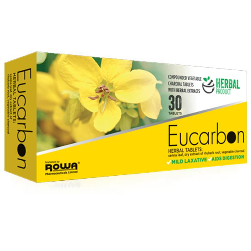 Eucarbon Herbal Tablets 30Pk