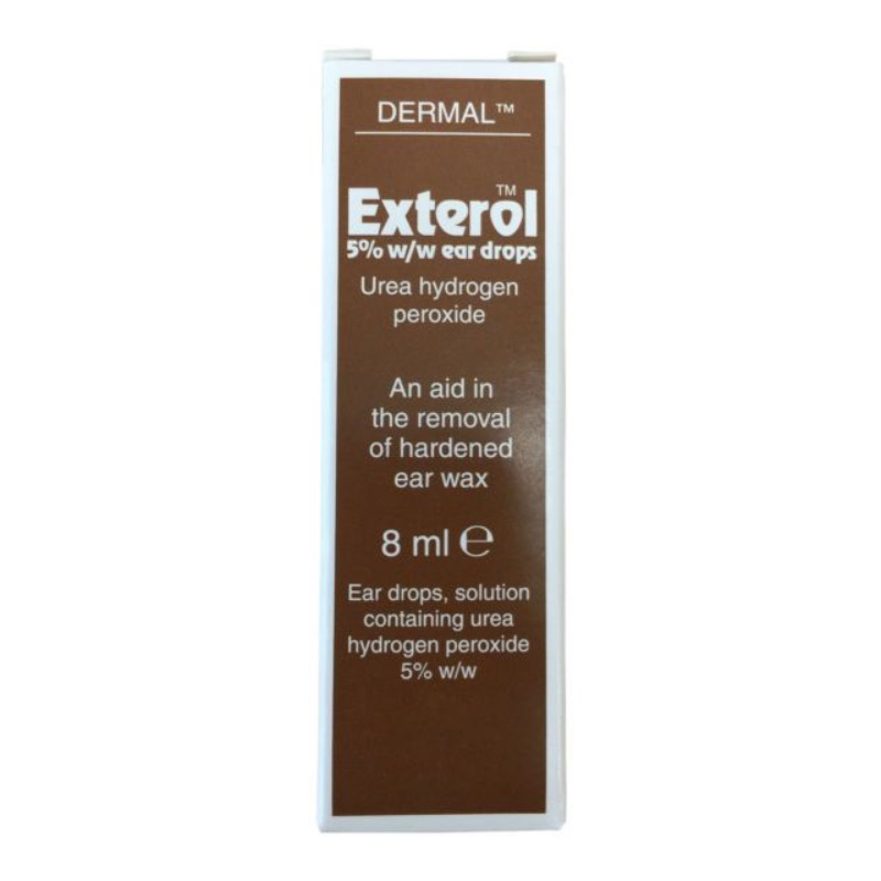 Exterol 5% W/w Ear Drops, Solution 8ml