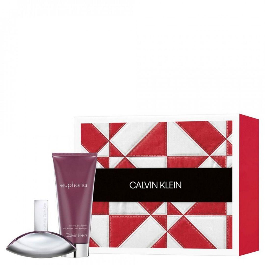 Calvin Klein Euphoria For Women Eau De Parfum Spray 50ml Gift Set
