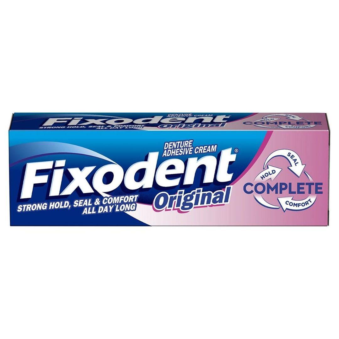 Fixodent Original Denture Adhesive Cream 47g